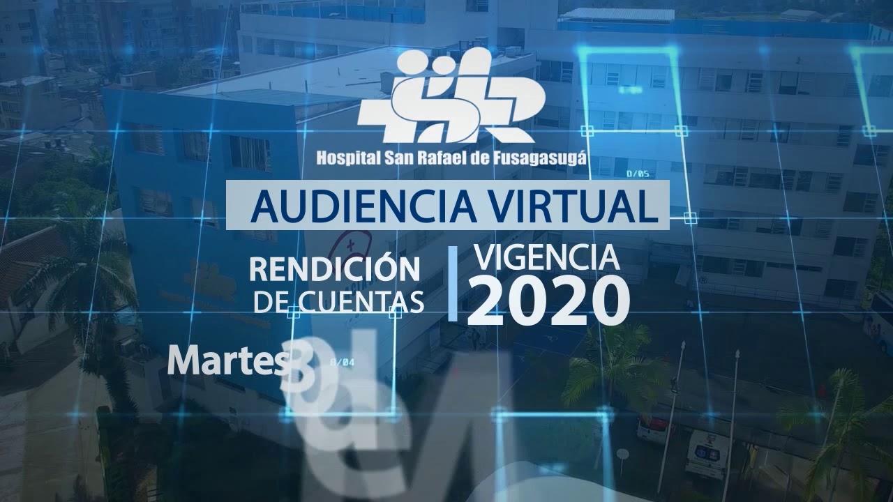 INVITACIÓN RENDICIÓN DE CUENTAS 2020