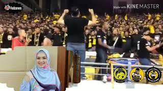 Siti Nurhaliza Chant With Ultras Malaya - Ekor Harimau Sejati #Harimau