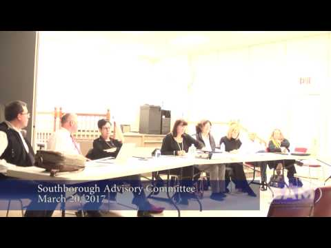 Southborough Advisory Committee Meeting March 20, 2017