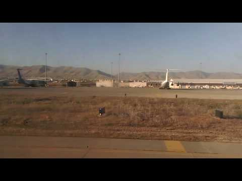 Take off from Sulaymaniyah airport (CRJ 900)