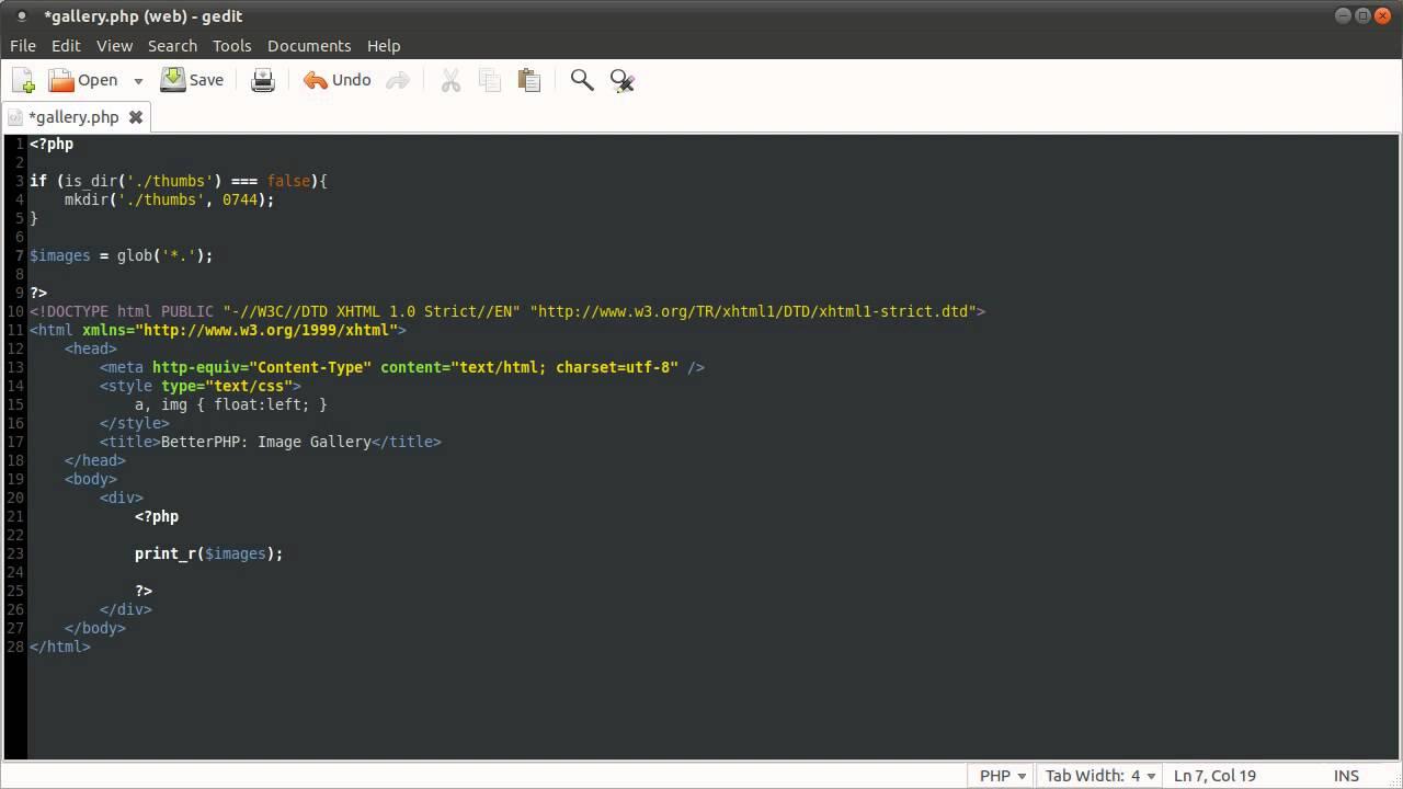 Simple Image Viewer Using PHP - Tutorial - Tech-Evangelist 45