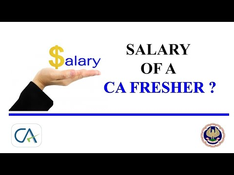 What is the Salary of a CA Fresher