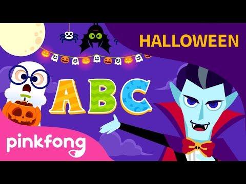 ABC de Halloween | Canciones de Halloween | Pinkfong Canciones Infantiles