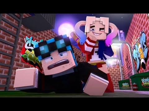 DanTdM Captured by Harley Quinn !  (minecraft Superhero Roleplay)