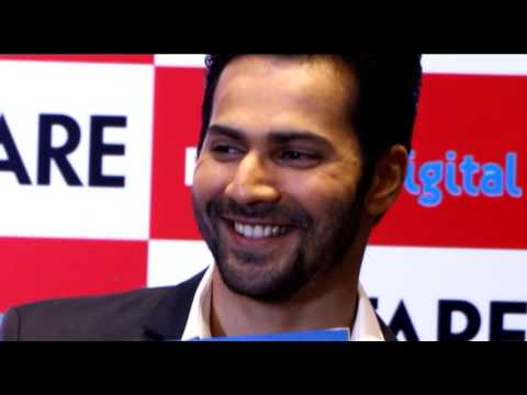 COVER LAUNCH OF FILMFARE MAGAZINE BY VARUN DHAWAN