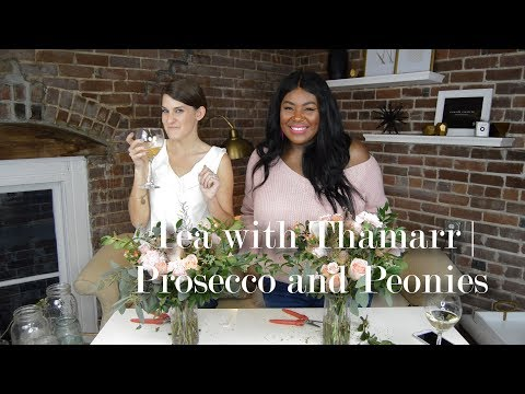 Tea with Thamarr | Prosecco and Peonies