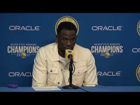 Draymond Green Postgame Interview / GS Warriors vs Spurs