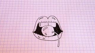 Простые рисунки #111 Как нарисовать Губы =)(Все все рисунки с моего канала https://www.youtube.com/user/MsSimpleDrawings/videos Рекомендую посмотреть: ❤ Простые рисунки..., 2014-06-30T13:11:32.000Z)