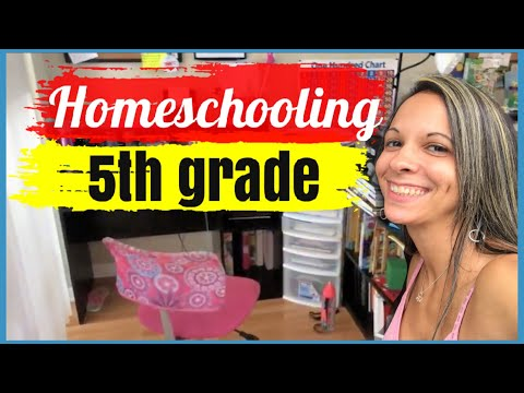 🔶5th grade curriculum choices & homeschool tour