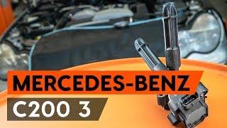 Hvordan udskiftes tennspole on MERCEDES-BENZ С (W203) [GUIDE AUTODOC]