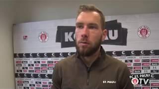 Himmelmann vor dem Bielefeld-Spiel I FC St. Pauli TV