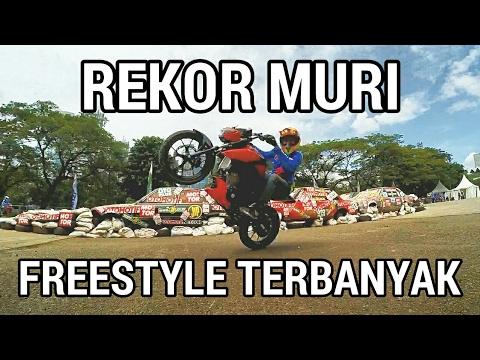 Rekor Muri Freestyle Terbanyak GSX-S 150 | Motovlog Indonesia