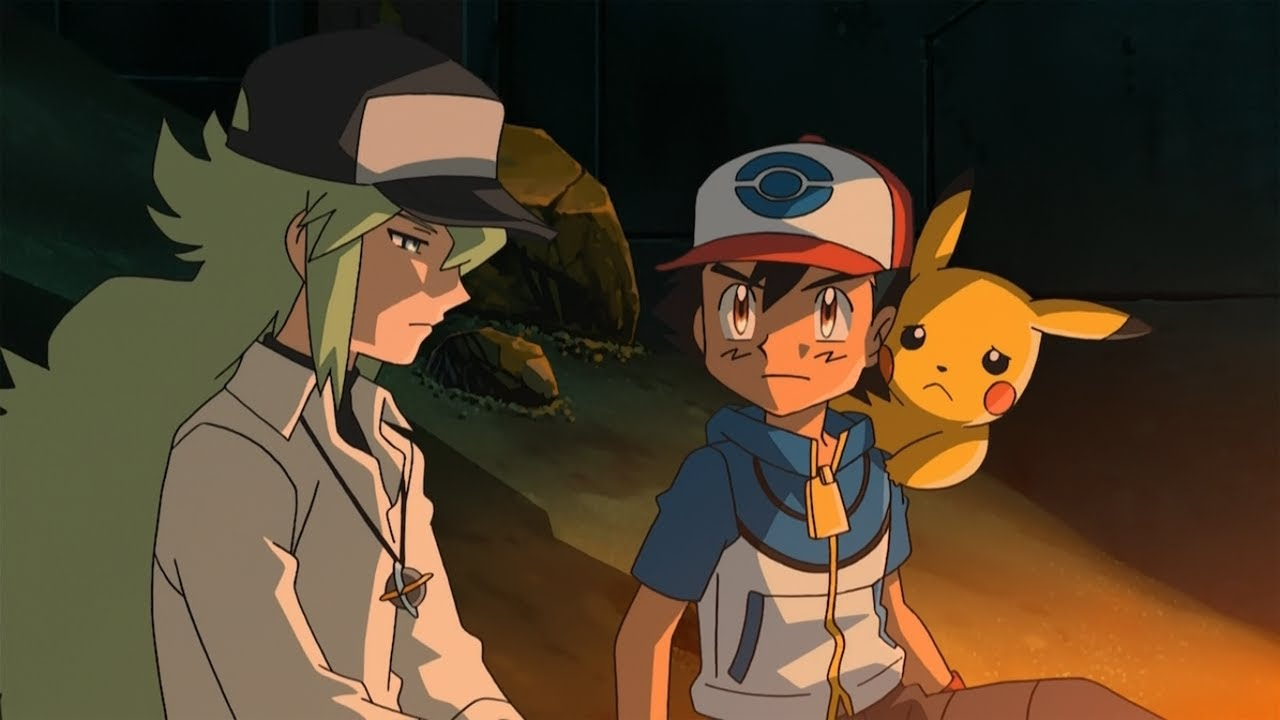 Pokemon ash vs giovanni episode-4863