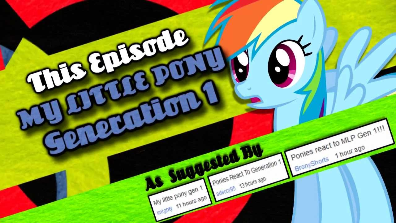 Ponies React to Generation One: PONIES The Anthology 2 Contribution