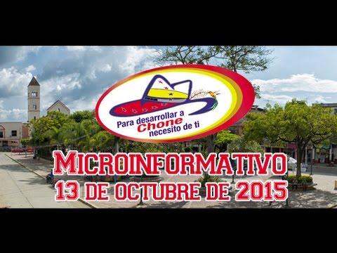 Microinformativo 13 octubre 2015
