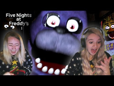 FIVE NIGHTS AT FREDDY'S with Laura and Larissa thumbnail
