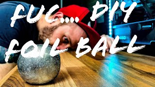 DIY Japanese Foil Ball CHALLENGE!!! DET ER FOR DUMT DET HERE !