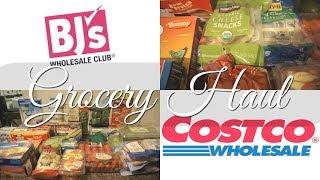 BJ's VS Costco Haul!