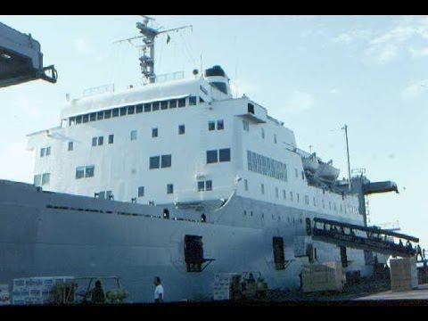 "Delta Line (Grace Line) SS Santa Maria ""M"" Ship 1983"