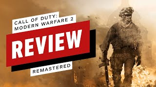 Call of Duty: Modern Warfare 2 Campaign Remastered Review (Video Game Video Review)