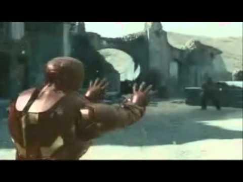 Iron Man Plasma Cannon Sound