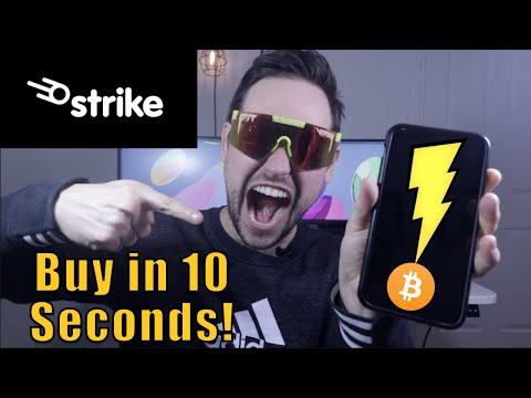The Easiest Lightning Fast Way to Buy Bitcoin | Strike App Review