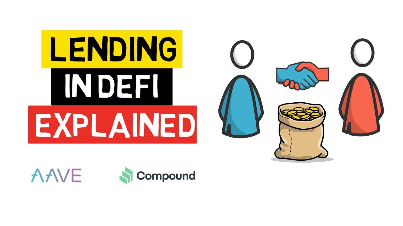 Lending And Borrowing In DEFI Explained - Aave, Compound
