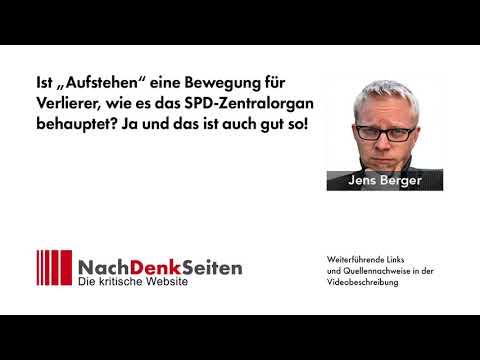"""Ist """"Aufstehen"""" eine Bewegung für Verlierer, wie es das SPD-Zentralorgan behauptet? Ja, gut so!"""