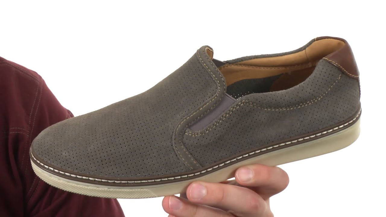 Johnston & Murphy McGuffey Slip-On Shoes WxbX8zweJ