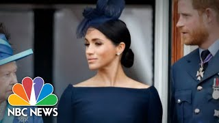 Meghan Markle Opens Up To Oprah About Speaking For Herself | NBC Nightly News