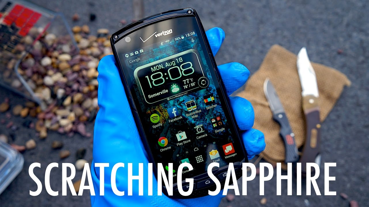How To Scratch a Sapphire Smartphone Screen