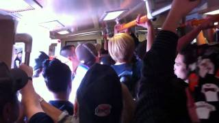 Fight on the BART train to San Francisco Giants World Series