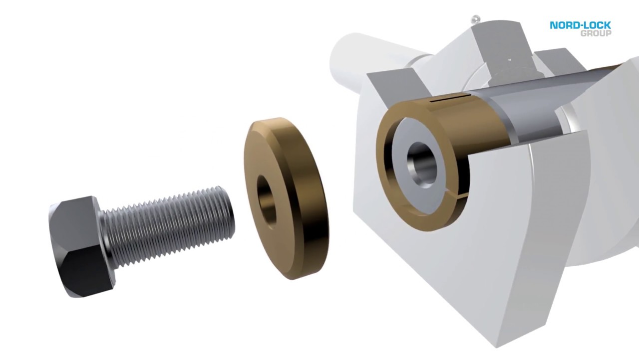 Expander System Pivot Pin Technology - Nord-Lock Group