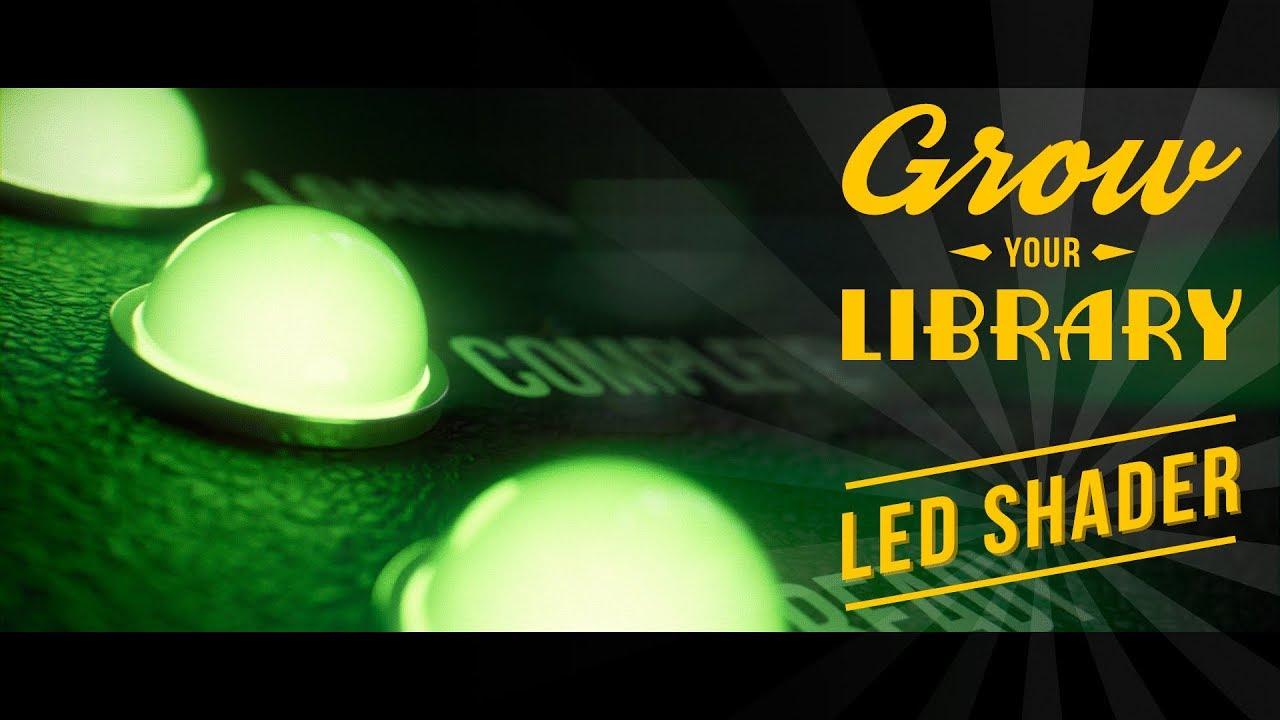 Light Indicator, LED Shader - Blender Tutorial - YouTube