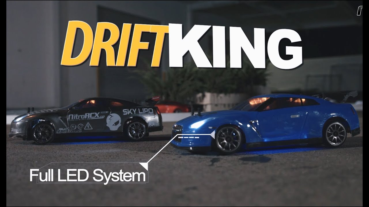 Exceed Drift King RC Drift Cars LED Headlight - YouTube