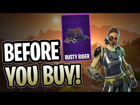 Steelsight | Rusty Rider - Before You Buy - Fortnite