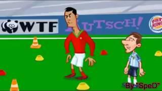 Роналду против Месси! ПРИКОЛ