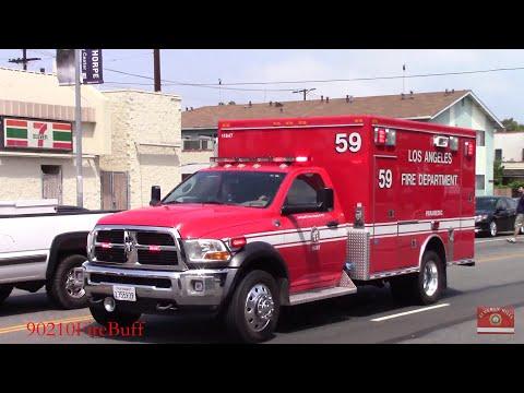 LAFD Rescue 59 Responding (EQ2B)
