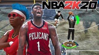 I FOUND ZION WILLIAMSON NBA 2K20 JUMPSHOT IN NBA 2K19...