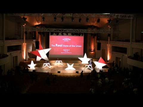 DiEM25: The Real State of the Union, Brussels