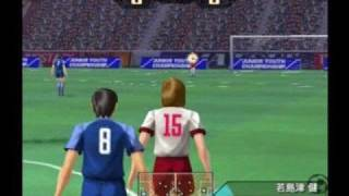 PS2 CAPTAIN TSUABASA ALLSTAR VS TOHO