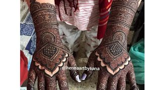 Engagement bride | Bridal Henna Art | Latest upload