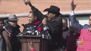 Supporters Rally For Councilman Diaz Sr.