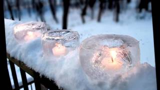Уличный новогодний декор Ледяные украшения для двора