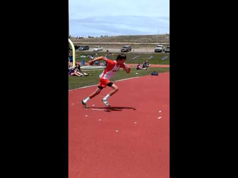 Alec Lusk Middle School high jump record 5'8""