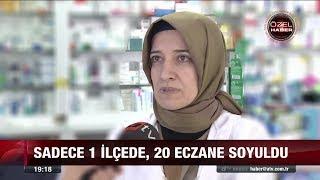 Uyuşturucu etkili ilaç çalıyorlar - 23 Şubat 2018