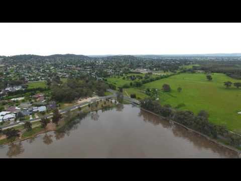 Lake Albert Wagga Wagga - Drone Footage