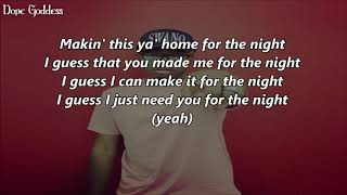 Imani Wj Wright - Home (Lyrics)