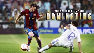 Young Lionel Messi Dominating HD