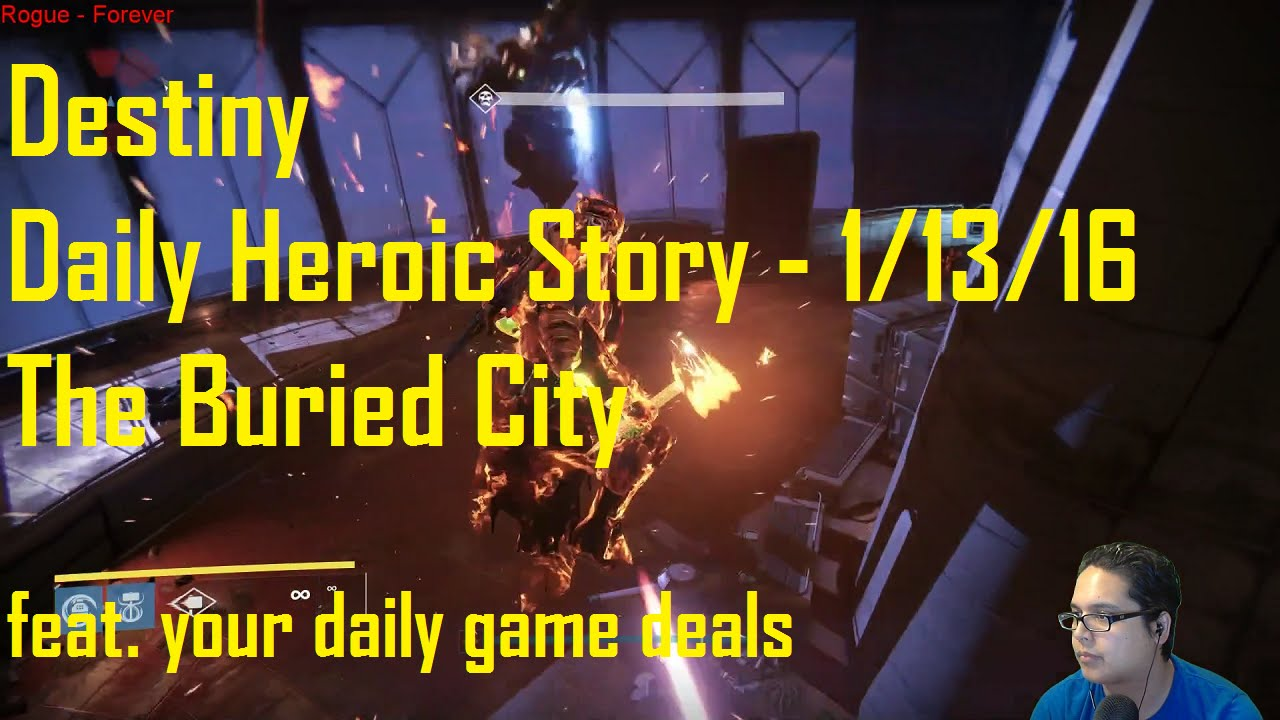 Destiny Daily Heroic Matchmaking - Simply St Augustine